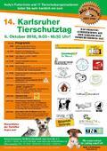 Hilfe benötigt am Tierschutztag 2018 in Karlsruhe