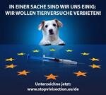 Wir sagen der EU-Kommission: Schluss mit Tierversuchen!